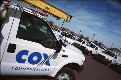 Cable operator Cox Communications moves into wireless phone business.