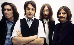 The video game featuring the Beatles' tunes is expected to ship during the 2009 holiday season.