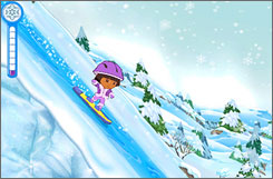 A look at 'Dora the Explorer: Dora Saves the Snow Princess.'