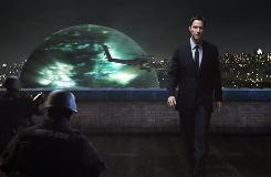 """Keanu Reeves in a scene from the motion picture """"The Day the Earth Stood Still."""""""