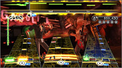 An image from 'Rock Band 2.'
