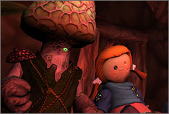 A scene from 'Mushroom Men: The Spore Wars.'