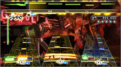 Music game 'Rock Band 2' from MTV Games and developer Harmonix.