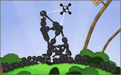 A scene from 'World of Goo' from 2D Boy.