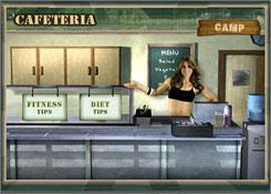 A scene from Majesco's 'Jillian Michaels' Fitness Ultimatum 2009.'