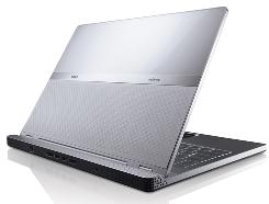 Dell's new luxury Adamo notebook computer is shown.