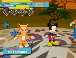 "In ""DanceDanceRevolution: Disney Grooves"" from Konami for the Nintendo Wii, kids of all ages can dance with Mickey and his friends."
