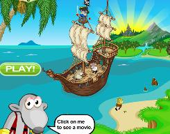 With Earth Day coming on April 22, the Internet offers many activities that can heighten kids' awareness of environmental issues. Among them are the eco-minded kids game Emerald Island. Kids enter this virtual world as an animal avatar, tasked with fighting off the eco-destroying Pirats by throwing fruit at them.