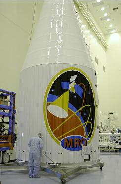 The Mars Reconnaissance Orbiter before it launched.