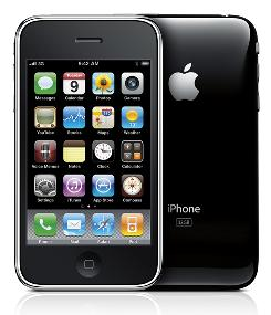 The iPhone 3G S.