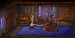 A scene from 'The Secret of Monkey Island: Special Edition.'