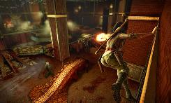 The quick pace in 'Wet,' from Bethesda Softworks for the Microsoft Xbox 360 and Sony PlayStation 3, keeps you on your toes while mastering gun-for-hire Rubi Malone's three main skills: acrobatics, gunplay and swordsmanship.
