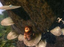 A scene from the video game adaptation of 'Where the Wild Things Are.'