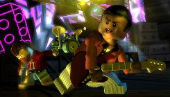 In 'Lego Rock Band,' families new to music gaming can learn to rock out with this fun and simple game that features great music and hilarious Lego character antics.