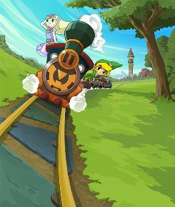 Kids can jump aboard 'The Legend of Zelda: Spirit Tracks' for a heroic railroad adventure full of challenging puzzles on the DS.