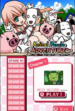 In Animal Puzzle Adventure, you must lead various animals to their respective barns.