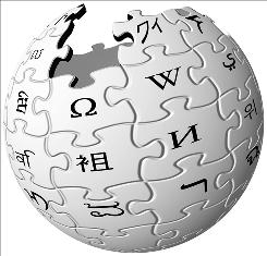 Logo for Wikipedia, the online encyclopedia.