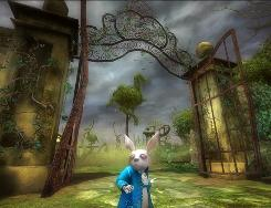 In Disney Interactive's 'Alice in Wonderland,' kids control five characters with magical abilities, including the White Rabbit, who can stop or alter time.