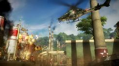 'Just Cause 2' features plenty of action and special effects.