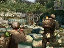 You can engage in some World War II action on the Apple iPad with Brothers in Arms 2: Global Front HD.
