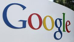 The logo of Internet search engine company Google at the headquarters in Mountain View in this 2005 file photo. Google sent a letter to lawmakers on Friday saying it never used information collected from public Wi-Fi networks in more than 30 countries.