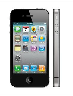 The Apple iPhone 4.