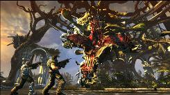 "A scene from ""Best Shooter"" game, Bulletstorm."