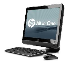 The new HP Compaq 6000 Pro All-in-One Business computer. PC makers shipped a total of 81.5 million computers in the second quarter with Hewlett-Packard remaining the top computer maker in the world.