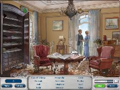 "I-play's ""Classic Adventures: The Great Gatsby,"" a downloadable casual game for Windows PCs, is a point-and-click adventure in which you must look for well-hidden items in a busy scene."