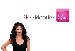 Catherine Zeta-Jones in a T-Mobile commercial. T-Mobile has lost 93,000 customers and ended the quarter with 33.6 million.
