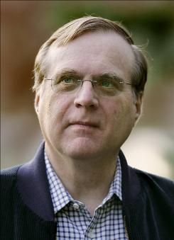 In this July 13, 2007 file photo, Vulcan chairman and Microsoft co-founder Paul Allen arrives at the annual Allen and Co.'s media conference in Sun Valley, Idaho.