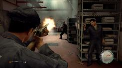 In 'Mafia II,' you will engage in gunfights as a young Sicilian American trying to work your way up in the Mafia.