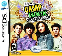In 'Camp Rock: The Final Jam' game, fans attend the same music camp featured in the movie and interact with animated versions of the characters.