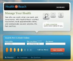 The Health In Reach free Internet-based service aims to make health care more accessible and affordable. 