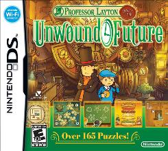 "In Nintendo's ""Professor Layton and the Unwound Future"" for the DS, players explore the concept of time travel as they solve a series of baffling mysteries."