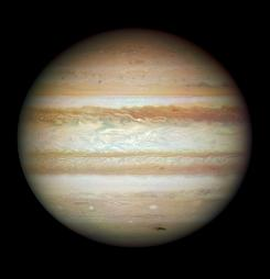 The planet Jupiter is seen in an undated handout file image provided by NASA.