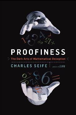 The cover of the book 'Proofiness.'