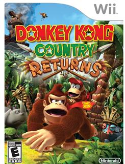 """Donkey Kong Country Returns,"" from Nintendo, is a Nintendo Wii exclusive video game featuring new adventures with one of the company's most famous characters."