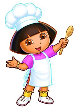 In Dora's Cooking Club, a just-released video game for the Nintendo DS or DSi, kids join Dora and help her as she learns to cook. Young children learn math while playing fun cooking games.
