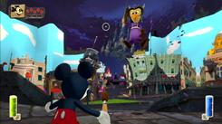 Disney Epic Mickey  stars Mickey Mouse as the hero in a new adventure.
