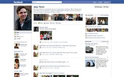 Facebook has redesigned the Wall tab.