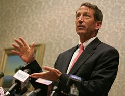 In 1998, South Carolina Gov. Mark Sanford blasted a study by the National Science Foundation for researching ATMs, or automatic teller machines. However, the study's focus was on Asynchronous Transfer Mode, the backbone technology underlying the Internet.