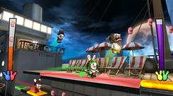 'Raving Rabbids: Travel in Time' for the Nintendo Wii puts the Rabbids in famous places from the past, such as the Titanic.