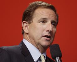 Oracle Corp. co-president Mark Hurd speaks during a keynote address at Oracle World in San Francisco in September. The Securities and Exchange Commission is investigating the circumstances of Hurd's forced resignation from Hewlett-Packard Co. in August.