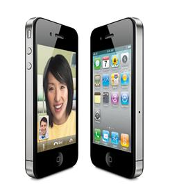 The most recent version of Apple's iPhone, the iPhone 4.