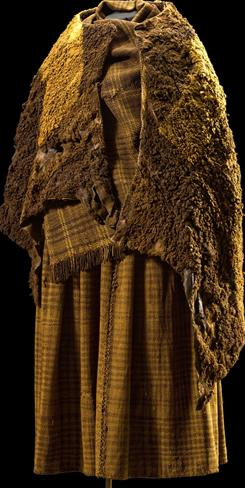 A costume dating back to the Pre-Roman Iron Age.