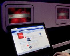 Free Facebook service will be available in February on North American flights for several major airlines as part of a promotion with Gogo Inflight Internet. Those who wish to use services other than besides Facebook must pay extra.