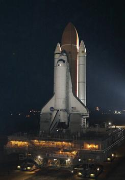 The space shuttle Discovery sustained minor damage; however, it does not need repairs.