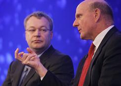 Nokia CEO Stephen Elop and Microsoft CEO Steve Ballmer have announced a strategic partnership to create smart phones that might challenge rivals like Apple and Google.