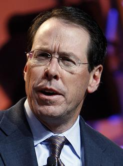 AT&T CEO Randall Stephenson is a supporter of the Wholesale Applications Community and believes it should be adopted by the cellphone industry.
